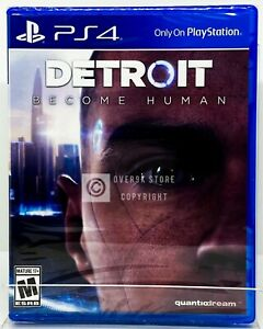 Detroit Become Human PS4 Brand New Factory Sealed