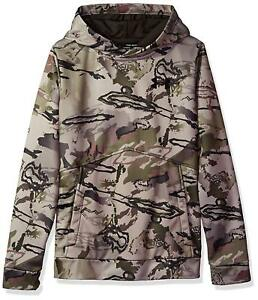 Under Armour Boys Icon Camo Hoodie BARREN CAMO 903 Small NEW $44.99