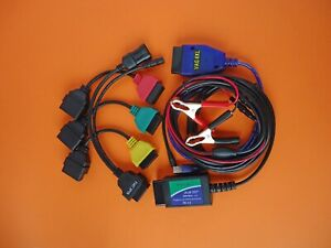 MULTIECUSCAN MULTI FIAT ECU SCAN FULL DIAGNOSTIC HARDWARE KIT TOOL 2020 V4.6 $119.99