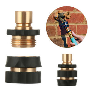Kitchen Tap Brass Hose Adapter Faucet Watering Tool Hose Quick Connector Set