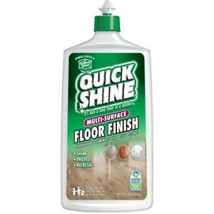 Holloway House Quick Shine Multi-Surface Floor Finish 27oz Brand New Shine