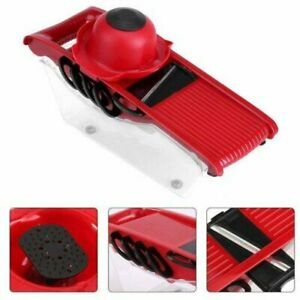 Kitchen Slicer Vegetable Cutter Potato Grater and Food Container with 5...