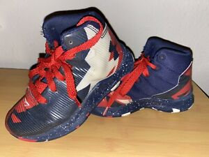 Under Armour Boys Kids Youth Basketball Shoes SC Freedom Steph Curry Sz 11k $20.00