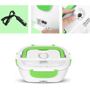 12V Car Electric Heating Lunch Box Food Heater Bento Warmer Container Portable