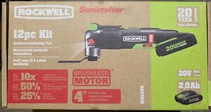 NEW SEALED Rockwell RK2701K 20V MAX Sonicrafter Oscillating Multi-Tool