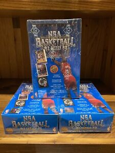1992 93 Upper Deck Low Number Series Basketball Factory Sealed Hobby Box