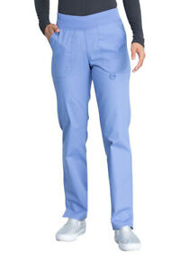 Dickies Scrubs EDS Women#x27;s Mid Rise Tapered Leg Pull On Pant
