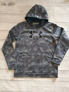Under Armour size youth X Large Sweatshirt hoodie EUC cold gear $11.99