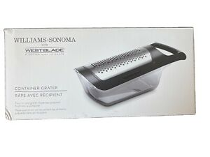 Williams Sonoma with WestBlade Container Grater Free Shipping 4 In 1