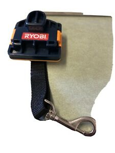 Ryobi One + Plus P920 Battery Port Cover Strap Belt Clip Great Condition  2b