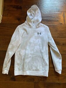 Under Armour Camo White Hoodie Sweatshirt in Boys Size Youth XL $13.00