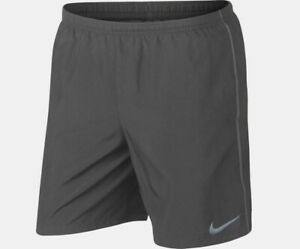 "NEW Nike Men's Flex Stride 7"" Brief Lined Running Shorts Gunsmoke Size XL 2XL $31.98"