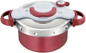 T-fal Pressure cooker Clipso Minut Duo Red 4.2 L IH compatible P4604236 JAPAN