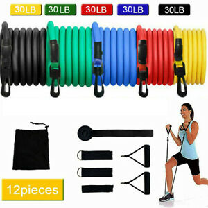 Resistance Bands Set Exercise Band strength training Home Workout bands tubes
