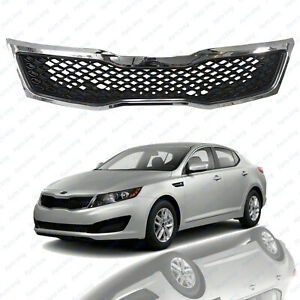 For 2011 2012 2013 Kia Optima LX EX Front Chrome Bumper Replacement Grille $51.99