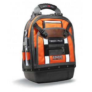 Veto Pro Pac TECH PAC HI VIZ ORANGE Hi Viz Orange Backpack,14x9x21in.