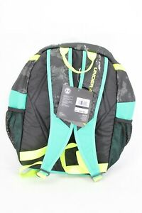 NEW Under Armour Youth Unisex UA Large Fry Backpack, Black Green, 008 $42.99