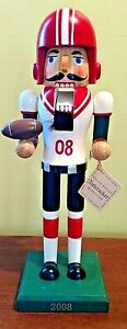Football player nutcracker, 2008, limited edition, Target