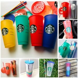 Starbucks color changing tumbler cup 2020 summer combos