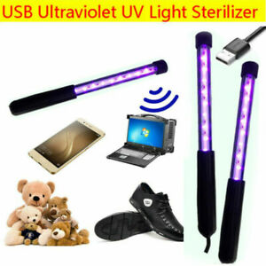 Portable Sterilize UV C Light Germicidal UV Lamp Home Handheld Disinfection NEW $20.99