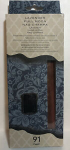 Lavender Full Moon Incense amp; 1 Ash Catcher Value Pack. New Unopened Box