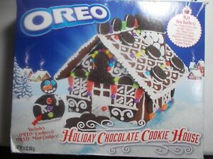Oreo Gingerbread Style Holiday Chocolate Cookie House 30oz Kit Christmas 2019
