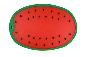 Dexas WATERMELON Reversible Cutting & Serving Board Fruit Shape * NEW WITH TAG *
