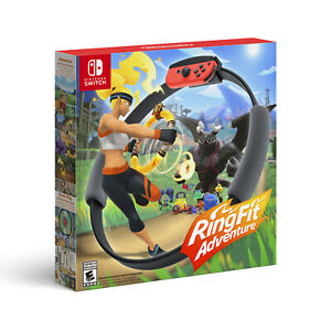 NEW Ring Fit Adventure for Nintendo Switch Controller Ring Con Leg Strap Game