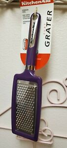 *NEW* PURPLE KITCHENAID FLAT GRATER STAINLESS STEEL BOYSENBERRY UTENSILS