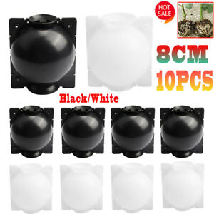 10X Plant Rooting Device High Pressure Propagation Ball Box Growing 8CM