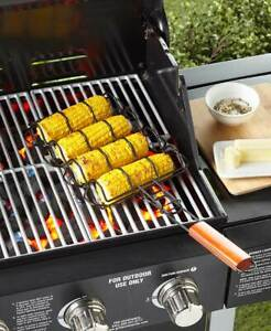 BBQ Grill Accessories Corn Grilling Basket Outdoor Camping Househ