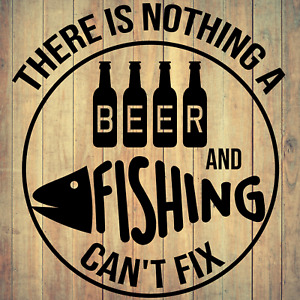 FUNNY FISHING QUOTE Die Cut Decal Vinyl Sticker for Cars Boat Kayak Truck RV