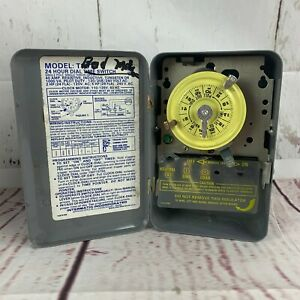 Intermatic T101 24 Hour Mechanical Time Switch 120V BAD MOTOR PARTS REPAIR