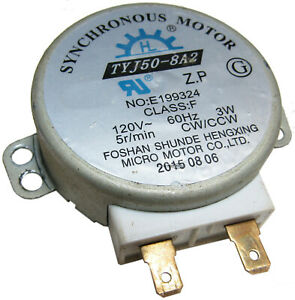 TYJ50-8A2 MICROWAVE SYNCHORONOUS TURNTABLE MOTOR OEM **FREE 1 YEAR WARRANTY** s1