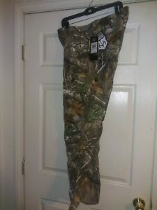 Under Armour Men's Size 32x32 Field Ops Pants Camo Hunting Realtree Edge $100 $55.00