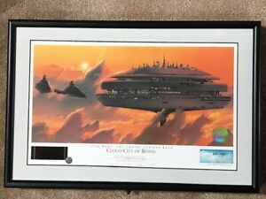 LIMITED EDITION Lithograph of Cloud City of Bespin signed by Ralph McQuarrie  $635.77