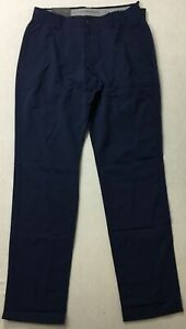 """Under Armour Men's 32"""" Golf Loose Pants Tapered 1342264 Navy 408 Size 38 32 $39.99"""