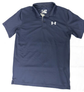 Under Armour UA Heat Gear Loose Fit Golf Polo Shirt Youth XL $14.00