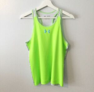 Under Armour Girls Racerback Heat Gear Tank Top Girls Size XL $8.99