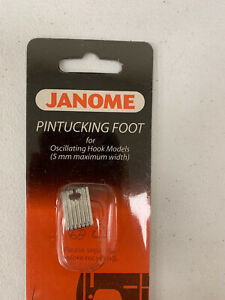 Genuine Janome Button Sewing Foot for Oscillating Hook Model Machines 5mm Max $14.95
