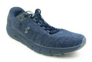 Under Armour Charged Rogue Mens Size 15 Shoes 3022674 400 Twist Ice Navy Blue $47.88
