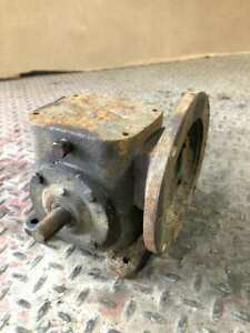 Browning Right Angle Worm Gear Speed Reducer 5:1 24in lbs 1750RPM 1.56HP $45.00