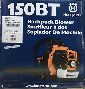 Husqvarna 150BT Backpack Blower Hand Throttle 2 Cycle Gas Powered 965877601 NEW