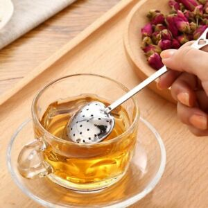 Steeper Tea Shape Spoon Infuser Strainer Practical Heart Handle Shower Tool