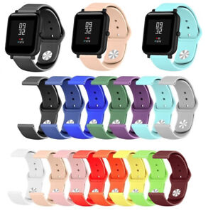 Best For Xiaomi Huami Amazfit Bip Replacement Silicone Watch Band Bracelet Strap