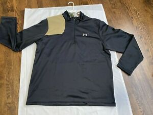 Under Armour black Camo Shooting Hunting Shirt Cold Gear Size 3XL NEW NWT $34.99