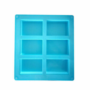 Rectangle Soap Mold Silicone Craft DIY Making Kitchen Homemade Cake Mould $7.29