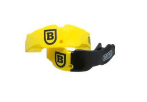 NEW Battle Sports Mouthguard 2 PACK Youth 9 amp; Under YELLOW BLACK $15.99