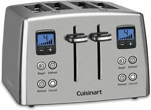 CPT-435 Countdown 4-Slice Stainless Steel Toaster