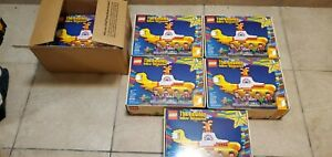 New Retired LEGO The Beatles Yellow Submarine 21306 Limited Edition Still Sealed $199.99